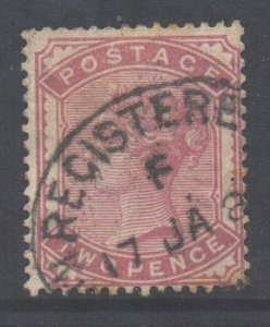GB Scott 81 - SG168, 1880 Victoria 2d used