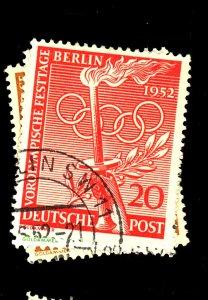 GERMANY #9N81-3 USED FVF Cat $43  Cat $43
