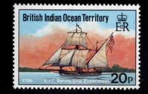 British Indian Ocean Territory BIOT Scott 115 MH* Survey Ship stamp