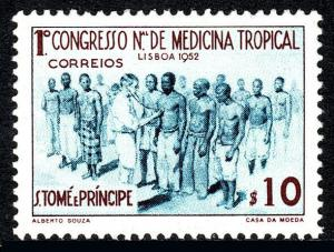 St Thomas & Prince Islands 356, MNH. Medical Congress of Tropical Medicine, 1952