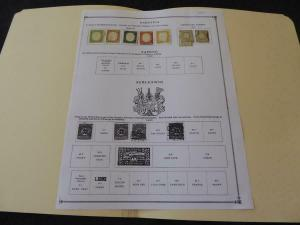 Sardinia 1855-1961 Mint/Used Stamp Collection on Scott Album Pages