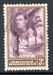 British Honduras 117 U 1938