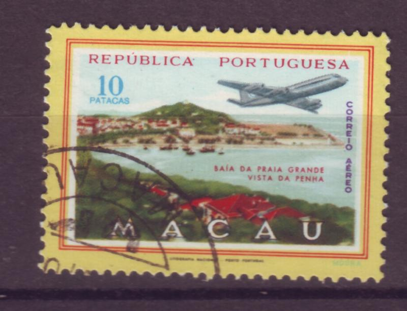 J17731 JLstamps [low price] 1960 macao hv of set used #c20 airplane
