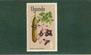 UGANDA 127 MNH BIN$  1.25