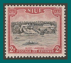 Niue 1950 Alofi Landing, MLH #96,SG115