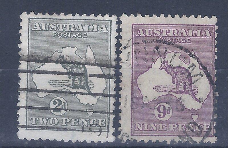 AUSTRALIA # 3 & 9  SCV $47.50 STARTS @ 15% OF CAT