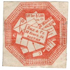 (I.B) US Local Post : Hale & Co 5c