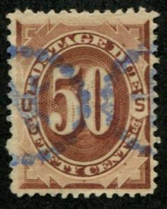 USA SC# J25 Postage Due 50c, Canceled