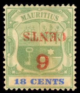 Mauritius Scott 113a Gibbons 134a Mint Stamp