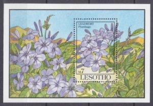 1993 Lesotho 1037/B101 Flowers 7,50 €