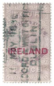 (I.B) QV Revenue : Judicature Ireland 4d (1880)