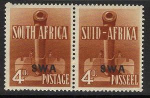 SOUTH WEST AFRICA SG118 1941 4d ORANGE-BROWN MTD MINT