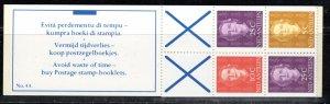 Netherlands Antilles Scott # 427a, mint nh, cpl. stamp booklet, var., se-tenant