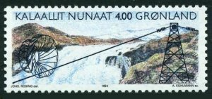 Greenland 266,MNH.Michel 246. Buksefjord Electrical Project,1994.
