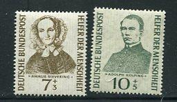 Germany 1955 Mi 270-3 MNH Portraits A.Sieveking A.Kolping MNH 7043