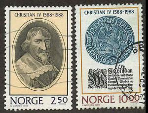 Norway 932-933 Used  VF