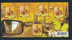 [16546] Netherlands 2007 Beautifull Holland Gouda Cheese Butterfly Duck Sheet
