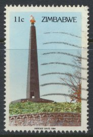 Zimbabwe SG 644  SC# 478 Used  Heroes' Day  see detail and scan