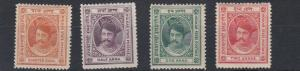 INDORE  1889 - 92    S G 5 - 8  SET OF 4     MH