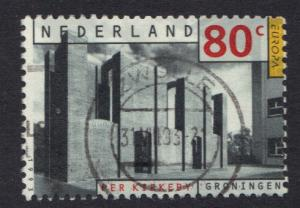 Netherlands  #839  used  1993  Europa  80c
