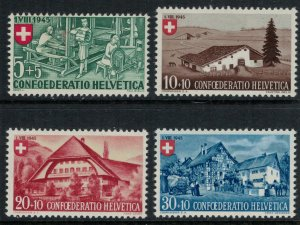 Switzerland #B146-9* NH  CV $14.50