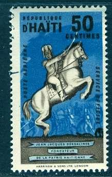 Haiti; 1962: Sc. # CO6: O/Used CTO Single Stamp