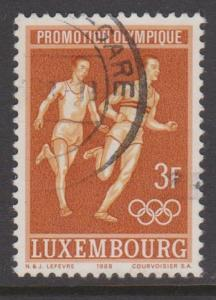 Luxembourg Sc#463 Used
