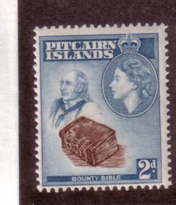 Pitcairn Islands #22 2p Queen Elizabeth  (MH) CV$2.75