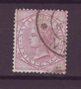 J14070 JLstamps 1882-9 natal used #71 queen,
