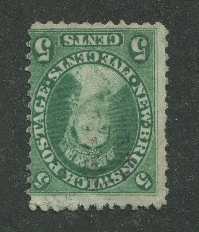NEW BRUNSWICK #8 USED 7? CANCEL