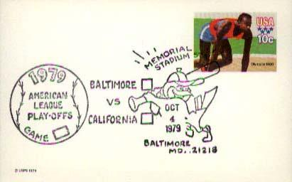 United States, Event, Sports, Fancy Cancels, Maryland