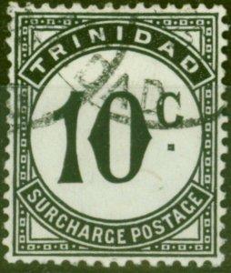 Trinidad 1947 10c Black SGD30 Fine Used