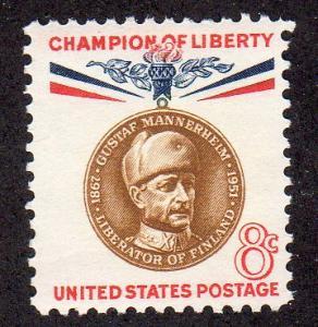 United States 1166 - Mint-NH - Gustaf Mannerheim