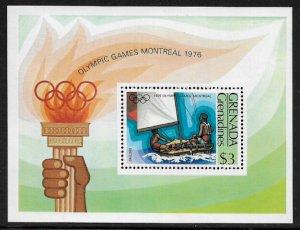 Grenada, Grenadines #196 MNH S/Sheet - Montreal Olympic Games