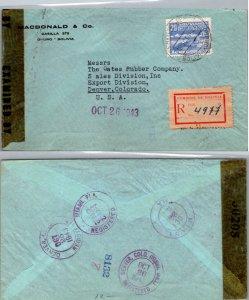 Bolivia, Registered, Censored