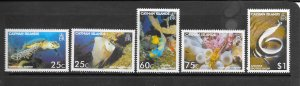 FISH - CAYMAN ISLANDS #962-6  MNH