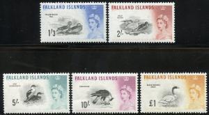 FALKLAND ISLANDS SCOTT#138/42  MINT NEVER  HINGED ---SCOTT VALUE $167.50