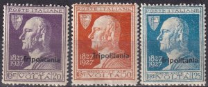 Tripolitania #25-7 F-VF Unused CV $20.75  (Z6866)