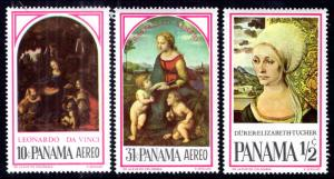 Panama 466-466B Paintings MNH VF