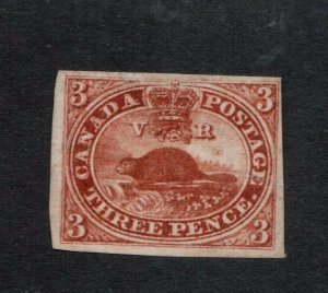 Canada #4i Very Fine Mint Unused (No Gum) Reentry In Canada Variety