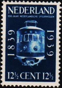 Netherlands. 1939 12 1/2c. S.G.500 Mounted Mint