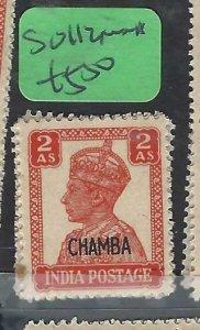 INDIA CHAMBA (P1808B)  KGVI  2A     SG 112      MNH