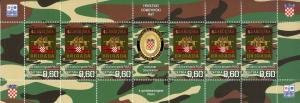 Croatia 2019 MNH War of Independence Guards Brigades 4x 6v M/S Military Stamps