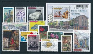 French Andorra 2013 Complete year set  MNH
