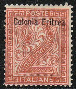 Eritrea Stamps of Italy Ovpted ( Scott #2) MH