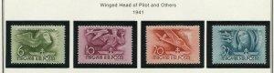 HUNGARY SCOTT#B131/43   MINT NEVER HINGED AS SHOWN--SCOTT VALUE $11.00