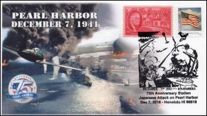16-401, 2016, Pearl Harbor, 75th Aniv., December 7, Honolulu HI, WW II