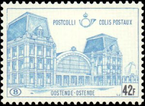 Belgium #Q415, Incomplete Set, 1971, Never Hinged