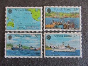 Norfolk Island #319-22 Mint Never Hinged- (4DC) WDWPhilatelic