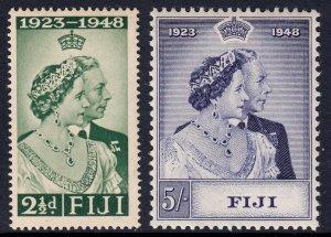 Fiji - Scott #139-140 - MH - Gum toning - SCV $23.20